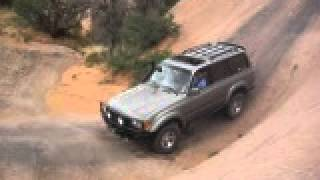80 series Landcruiser Cruise Moab 2009