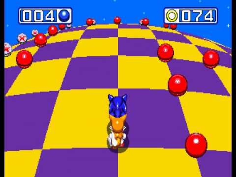Sonic the Hedgehog 3 - Sonic the Hedgehog 3 - Sega Genesis - seventh emerald and a perfect (all rings collected) - User video