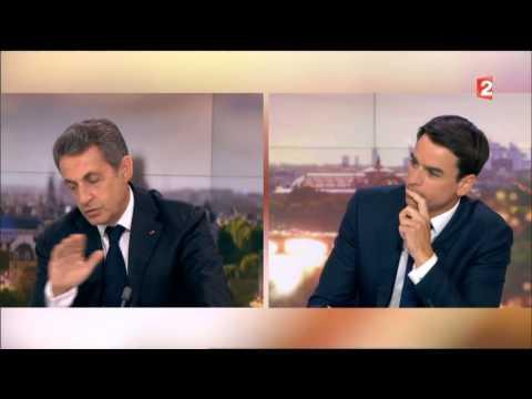 Nicolas Sarkozy 20h France2 31/05/2015