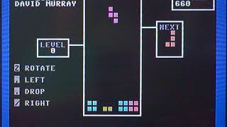 BASIC Engine Tetris demo