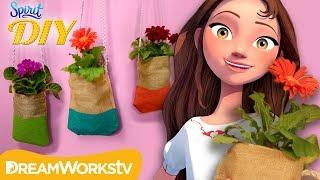 DIY Colorful Hanging Planter | SPIRIT DIY