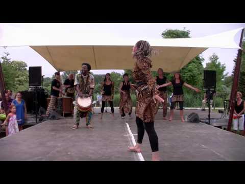 Turid Dramé Dansgroep at Amsterdam Roots Festival part 2