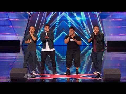 America's Got Talent S09E04 Legaci Boy Band Sings