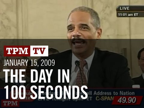 January 15, 2009: The Day in 100 Seconds