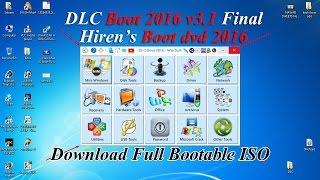 DLC Ultimate Boot 2016 Best Alternative Of Old Hiren's Boot CD Lovers