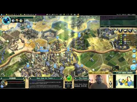 Civilization 5 Multiplayer 149: France [6/6] ( BNW 6 Player Free For All) Gameplay/Commentary