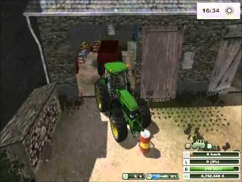 Farming Simulator 2013-lavori agricoli #11:concimazione campo di erba medica