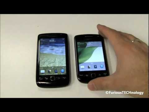 Blackberry Torch 9860 Touch vs Blackberry Curve 9380 Touch - FACE OFF!