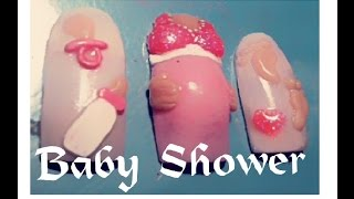 °Uñas Baby Shower°