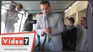 جامعة الأزهر: لا خسائر بحريق مستشفى الحسين سوى لافتة