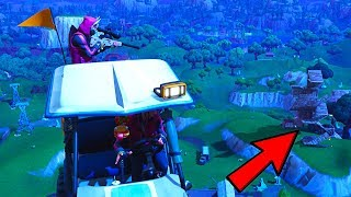 We did something crazy with the new fortnite vehicle...