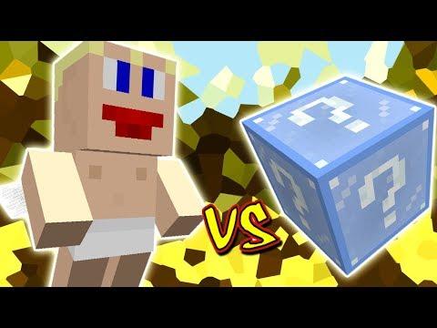 CUPIDO VS. LUCKY BLOCK FROSTY (MINECRAFT LUCKY BLOCK CHALLENGE)