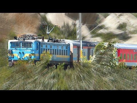 WAG7 Bangalore RAJDHANI Express : INDIAN RAILWAYS