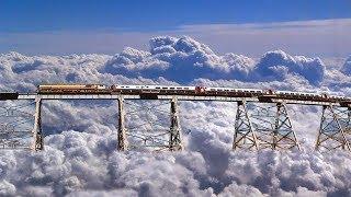 পৃথিবীর সবথেকে ভ য়ঙ্কর সব রেললাইন    অবাক হবেন আপনিও Top 5 most dangerous railways in the world