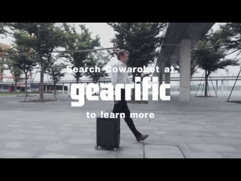 Cowarobot R1 is the World's First Autonomous Suitcase | Gearrific