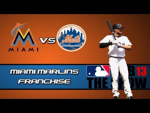 MLB 13 The Show Franchise Mode: Miami Marlins - Trade Ideas [Y1G5 EP2]