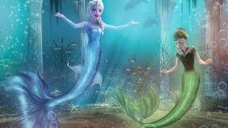 Frozen Mermaid Princess Elsa & Anna - Disney Princess Games