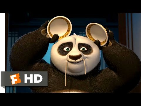 Kung Fu Panda (2008) - Impersonations At Dinner Scene (5/10)   Movieclips
