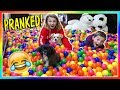 TURNING TYLERS ROOM INTO A BALL PIT | We Are The Davises