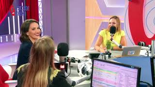 Natalia Oreiro in Russian Radio - Moscow - 5.6.2018