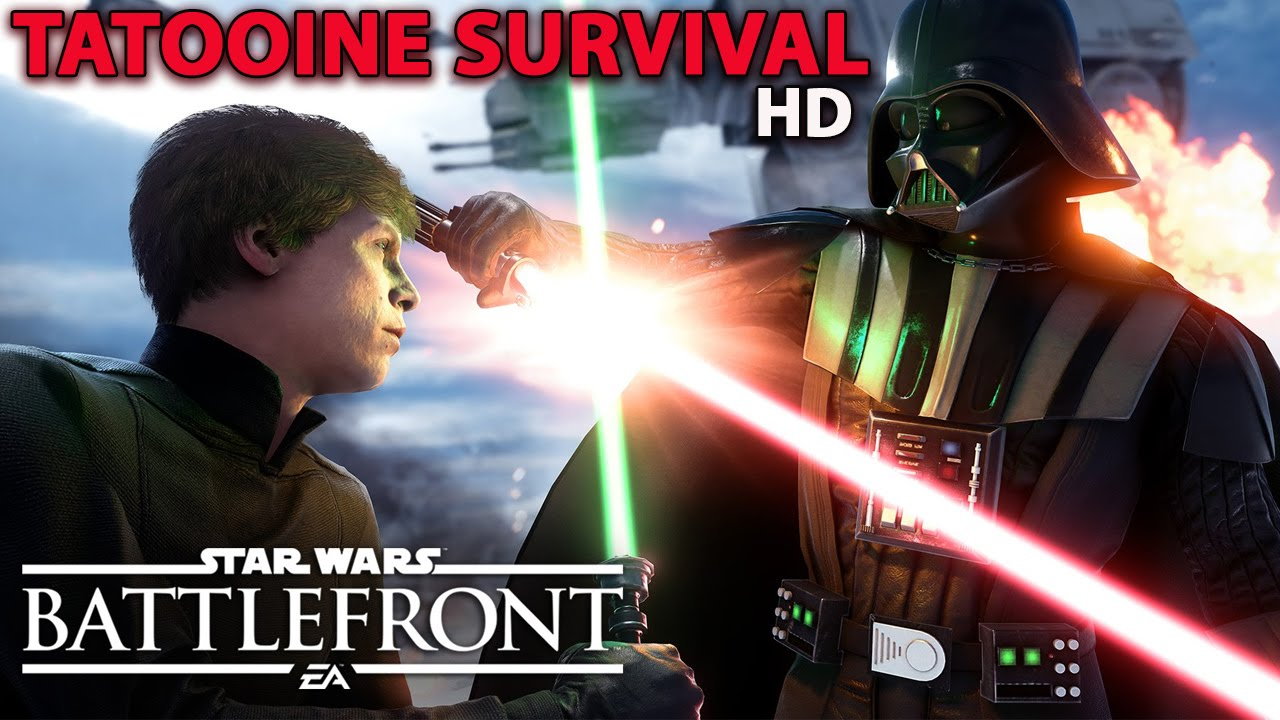Star Wars Battlefront 3 | Open Beta | Survival Tatooine