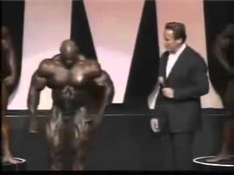 Арнольд Шварценеггер и Ронни Колеман Мистер Олимпия 2004