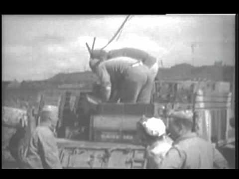 Marine activity on Iwo Jima