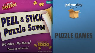 Save Big On Puzzle Prime Day Deals: Puzzle Presto! Peel & Stick Puzzle Saver: The Original and Still