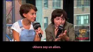 Entrevista con los niños de Stranger Things - Primera Parte (Subtitulos en español)