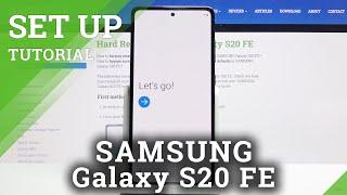 Setup Process on SAMSUNG Galaxy S20 FE – Configuration & Activation