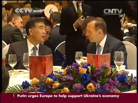 Tony Abbott attends Australia-China CEO Round table meeting