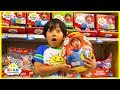 Ryan Toy Hunt for his own toys Ryans World at Walmart!!!