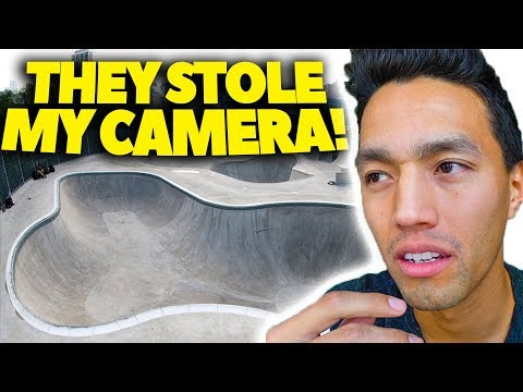 Don't leave your camera at skateparks...