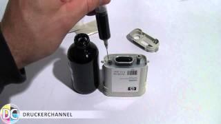 Refillworkshop für HP Nr 940 Tintenpatronen