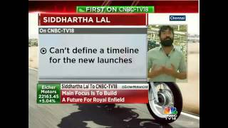 Have Production Target Of 9 Lakh Units By 2018-2019: Eicher Motors