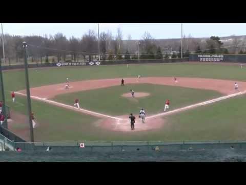 Lewis Baseball Post Game vs McKendree (DH: L, 6-0, 13-6) 3/30/15