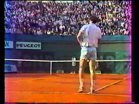 チャン vs マッケンロー - ローランギャロス 1988 - 03/08