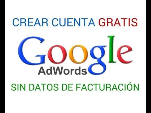 Crear Cuenta de Google Adwords sin Datos de Facturación - Gratis con MCC