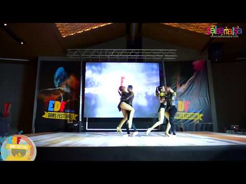 Mine y Serkan Bachata Team Dance Performance | EDF-2018