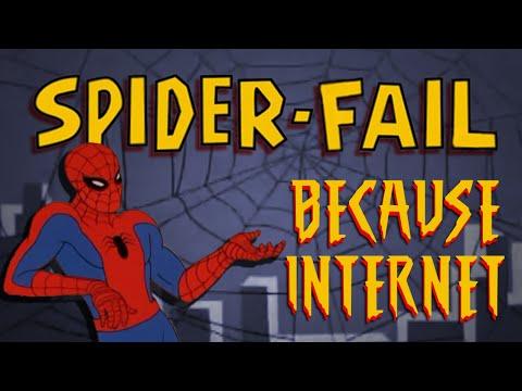 Spider-fail video