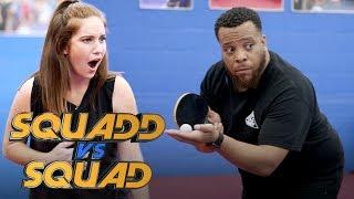 Table Tennis: Amateurs vs. Young Professionals