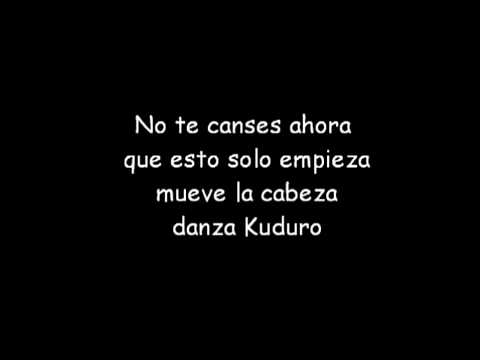 Danza Kuduro (lyrics) video
