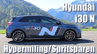 Hyundai i30 N | Spritsparchallenge mit 275 PS | How low can I go?
