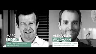 appliedAI Partner Talk | Marc Ziegler, Partner | Digital Transformation Porsche Consulting