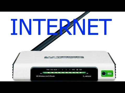 Compartilhando internet no roteador wireless configurando o TPLINK TL-MR3220 ADSL em modo PPPOE