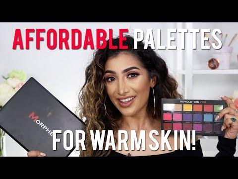 Best Affordable/Drugstore Eyeshadow Palettes - Warm/Tan/Indian Skin