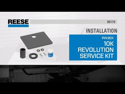 Installation: 86110 Reese® 10K Revolution Service Kit