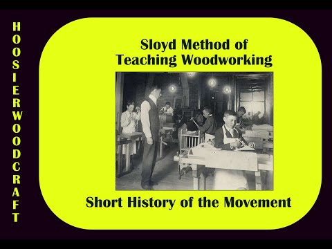 Sloyd Woodworking Education.wmv