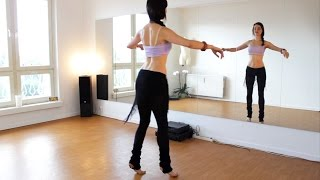BELLY DANCE WORKOUT - Hip Camel Drills