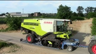 NEW 770 TT LEXION 2013 on the Road - 936 Vario Pulling - Agri957